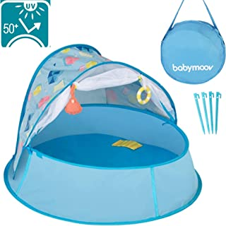 Babymoov Aquani Tent & Pool | 3 in 1 Pop Up Tent, Kiddie Pool and Play Yard