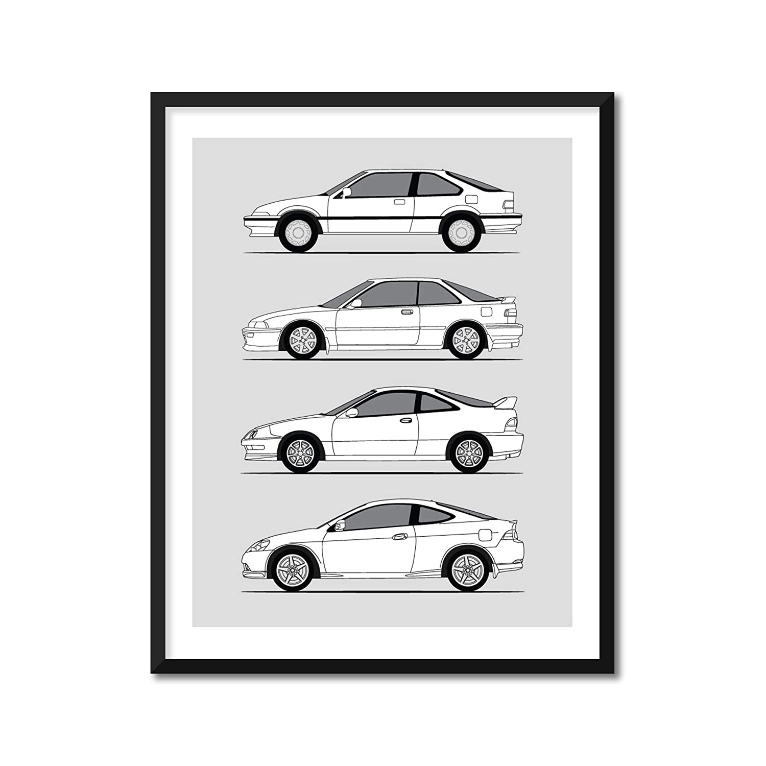 In a popularity Acura All items in the store Integra Honda Evolution Generations Inspired Pos