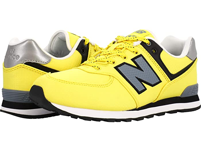 new balance kids yellow