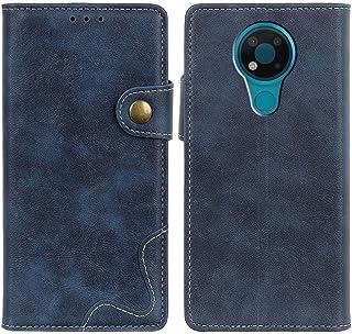 MOONCASE Nokia 3.4 Case, Premium PU Leather Cover Wallet Pouch Flip Case Card Slots Magnetic Closure Mobile Phone Protecti...