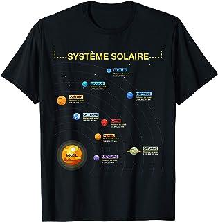 SYSTÈME SOLAIRE Tshirt Cadeau Chemise Pour Geeks De L'Espace T-Shirt