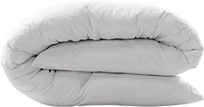 Cheer Collection Hypoalergenic Down Alternative Premium 15 x 100 Total Body Pillow with Zippered Cover - White