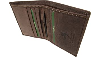 Visconti Mens Wallet - Hunter Leather- Gift Boxed - 705 - Arrow
