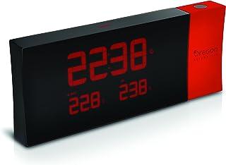 Oregon Scientific RMR221PR, Orologio con Proiezione con Dual Alarm, Colore: Rosso