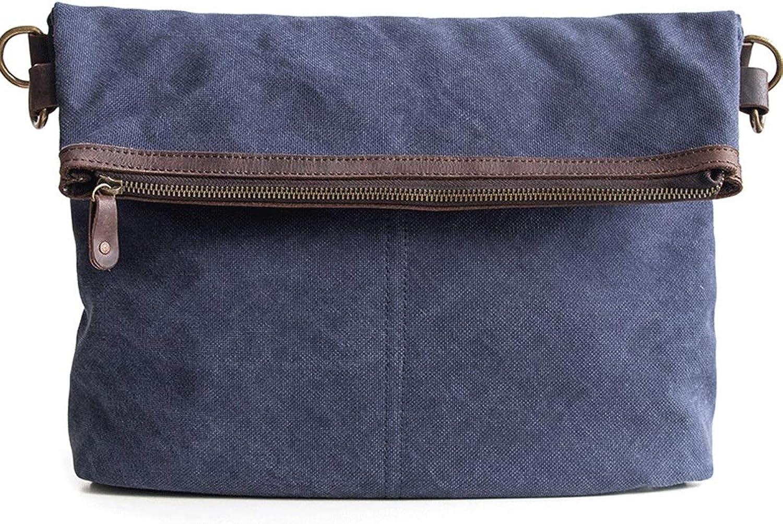 RXF Dual-Use-Falten Herren Messenger Bag Casual Schultertasche (Farbe     Blau, größe   S) B07H88HQHF 8d32ad