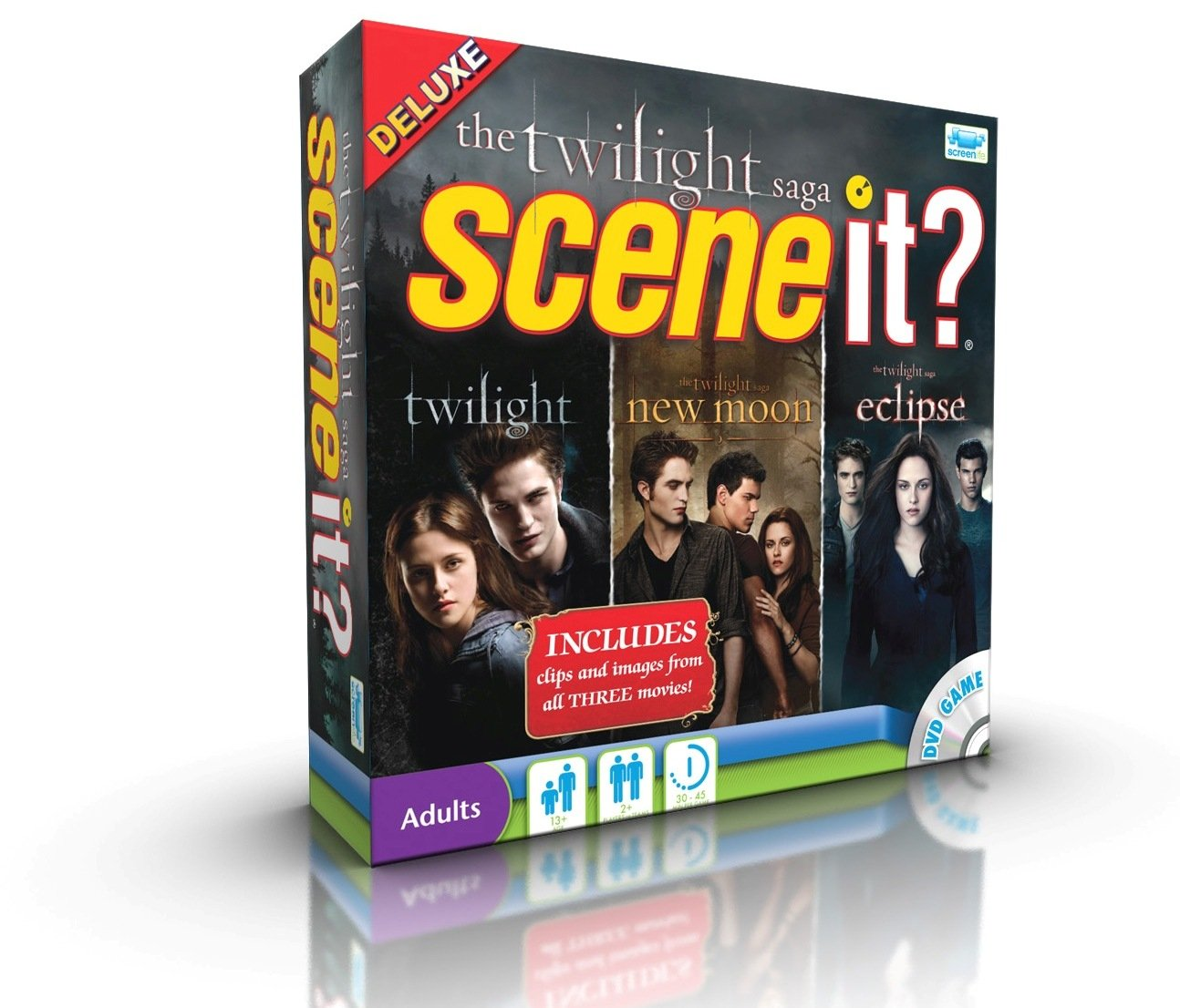 Scene It Twilight Saga - Juego de mesa con DVD, saga Crepúsculo [importado de Reino Unido]: Amazon.es: Juguetes y juegos