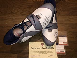 2ca546c7175b Nike Vince Carter Pe Promo Sample Shoes Dual Autographed Signed Auto  Memorabilia PSA DNA COA