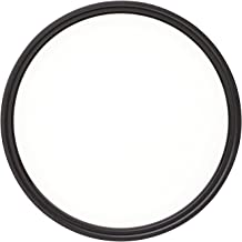 Heliopan 86mm UV Filter (708601) with specialty Schott glass in floating brass ring