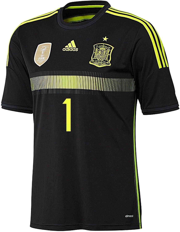 adidas IKER Casillas #1 España Camiseta 2da Copa Mundial 2014 ...