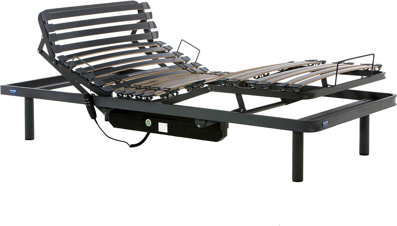 Gerialife® Cama articulada eléctrica con colchón ortopédico ...