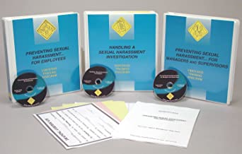 Marcom Group V0000519SM Preventing Sexual Harassment In The Workplace Package, DVD Training, Spanish