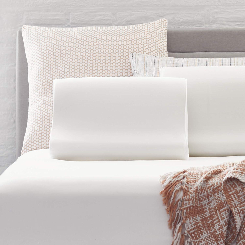 購入 新入荷 流行 Comfort Revolution Contour Memory Pillow Foam White