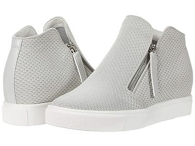 Steve Madden Click Wedge Sneaker (Grey) Women