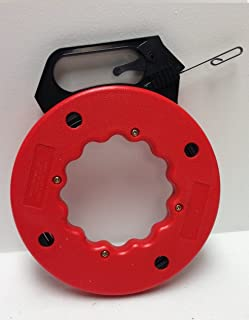 50 FT Fish Tape with High Impact Case for Electric or Communication Wire Puller