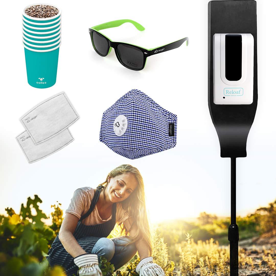 Washington Mall Garden Latest item Kit Bundle: RELOAF Automatic Touchless Sanitizer Hand Dis