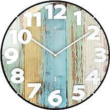 ottostyle.jp Domed Radio Wall Clock [Ocean] Automatic Reception Analog Silent Interior Silent Movement Art