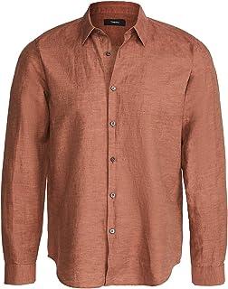 Men's Irving Shirt in Essential Linen Twill