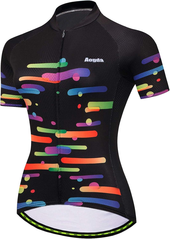 Max 61% OFF Aogda Cycling Jerseys Team Bike Bic Biking Clothing Women Shirts Popularity