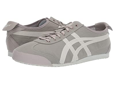 Onitsuka Tiger Mexico 66 (Bamboo Charcoal/Cream) Lace up casual Shoes