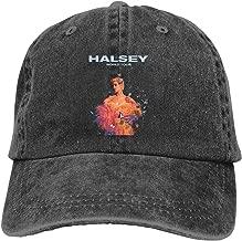100% Cotton Halsey Badlands World Tour Six Panel Cap Hat Black