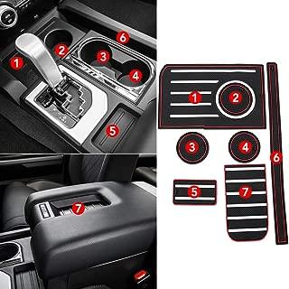 RaxTDM Custom Fit Interior Cup Holder Inserts for Toyota Tundra 2014-2019