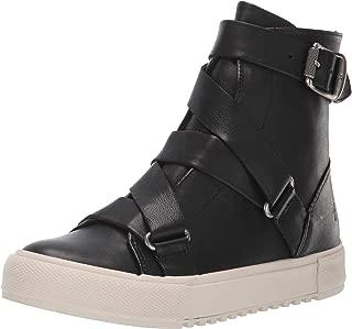 FRYE Women's Gia Moto High Sneaker