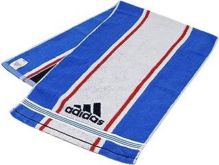 タオル美術館 【30%OFF】 adidas アディダス フロー2 スポーツタオル ブルー 06-3475150 約34×110cm