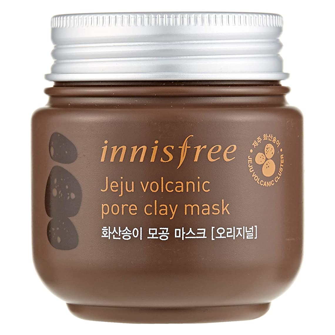 ジャズアフリカ人絵イニスフリー(Innisfree) Jeju Volcanic Pore Clay Mask 100ml/3.38oz