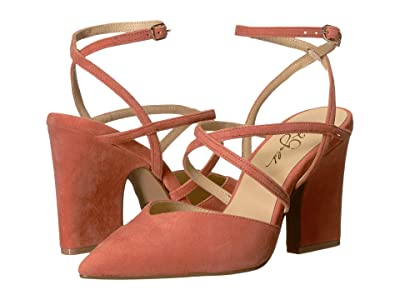 42 GOLD Fire (Sunset Coral Suede) Women