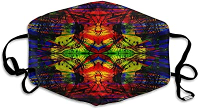Trippy Acid Wallpaper Hd Pics Widescreen Trip Desktop For Anti Dust Half Face Mouth Cover Respirator Dustproof Anti-bacterial Washable Reusable Comfy Germ Wind Protective Breath Windproof Mask