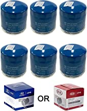 Genuine OEM Oil Filter for Hyundai 26300-35504 (6-pack)