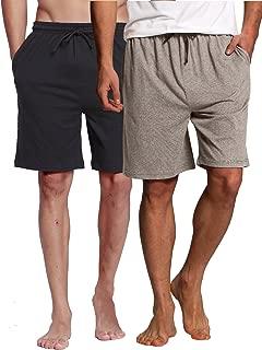 Men's Sleep Shorts - 100% Cotton Knit Sleep Shorts & Lounge Wear