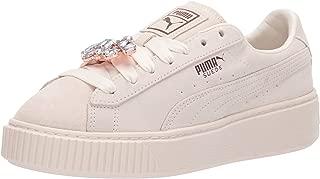 PUMA Women's Suede Platform Gem Sneaker