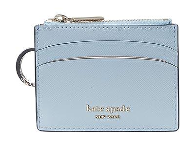 Kate Spade New York Spencer Coin Card Case (Horizon Blue) Handbags