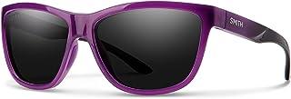 نظارات شمسية مستطيلة من سميث للجنسين - عدسات سوداء، مقاس واحد