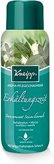 Kneipp Aroma-Pflegeschaumbad Erkältungszeit, Eukalyptus Minze, 400 ml