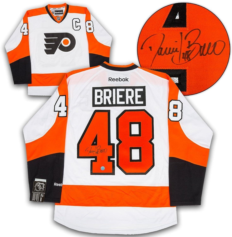 Daniel Briere Philadelphia Flyers Autographed White Reebok Premier Hockey Jersey