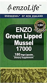 Sponsored Ad - Joint-Health Supplement Green Lipped Mussel 17000 180 Capsule 100% New_Zealand Pure Source (1 Bottle)