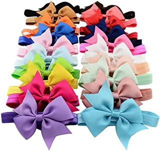 Gillberry Baby Girls' 20Pcs Elastic Headband Photography Lovely Children Gifts