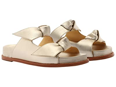 Alexandre Birman Clarita Slide Leather Sole
