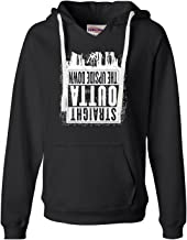 Go All Out Womens Straight Outta The Upside Down Deluxe Soft Hoodie