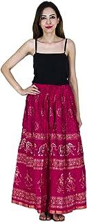 Generic Women'S Pink Skirts(Jiskrt-55_Pink_42W X 40L)