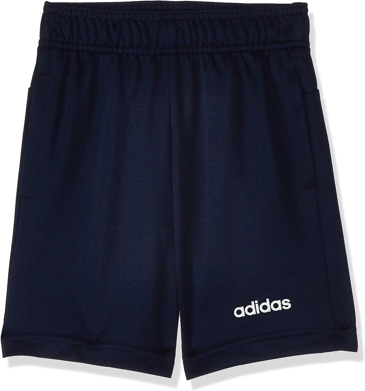 adidas Boys Kids Linear Logo Shorts Pants Training Running Lifestyle Game
