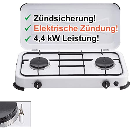 Campingkocher Elektrisch elektrische Kochplatte Scheffler Doppel Kochplatte Kochfeld