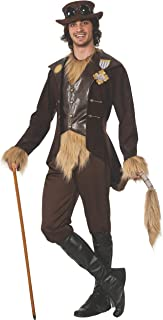 Men's Wizard of Oz 75th Anniversary Adult Steampunk Cowardly Lion Costume