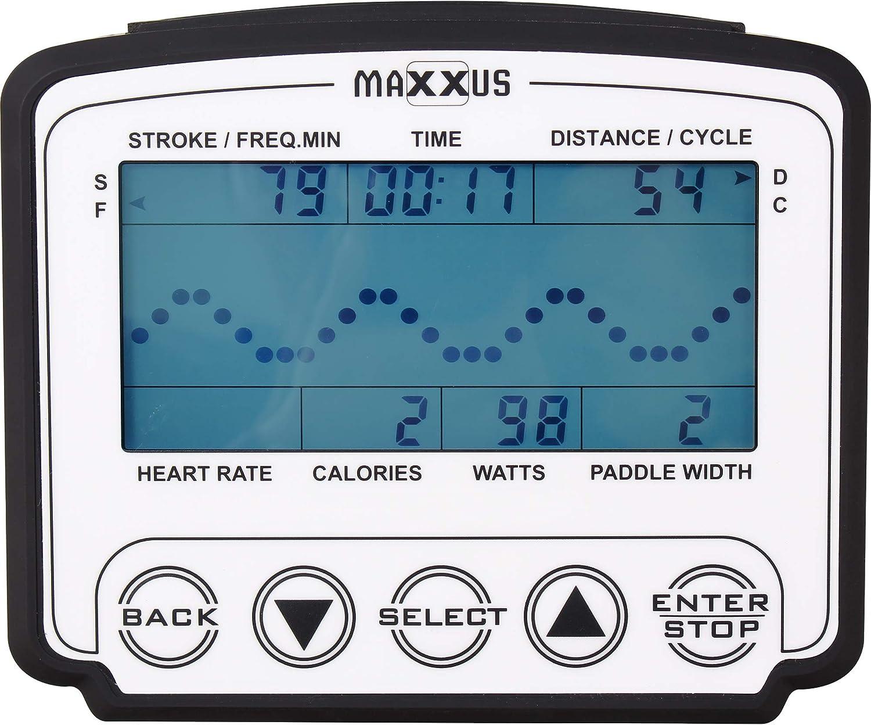 MAXXUS AirRow Rower Rudergerät Trainingscomputer