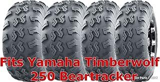 21x7-10 & 22x10-10 Complete Set Yamaha Timberwolf 250 Beartracker ATV Tires