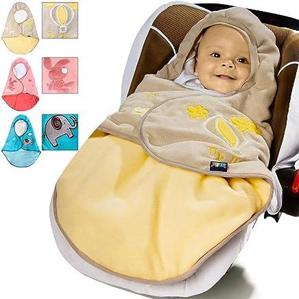 Lupilu Babyfu/ßsack Baby Fu/ßsack Winterfu/ßsack Kuschelsack Babydecke Kinderwagen ✔waschbar ✔gut gef/üttert ✔gelb