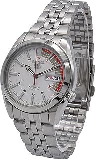 Seiko 5 Men's Mechanical Watch Silver