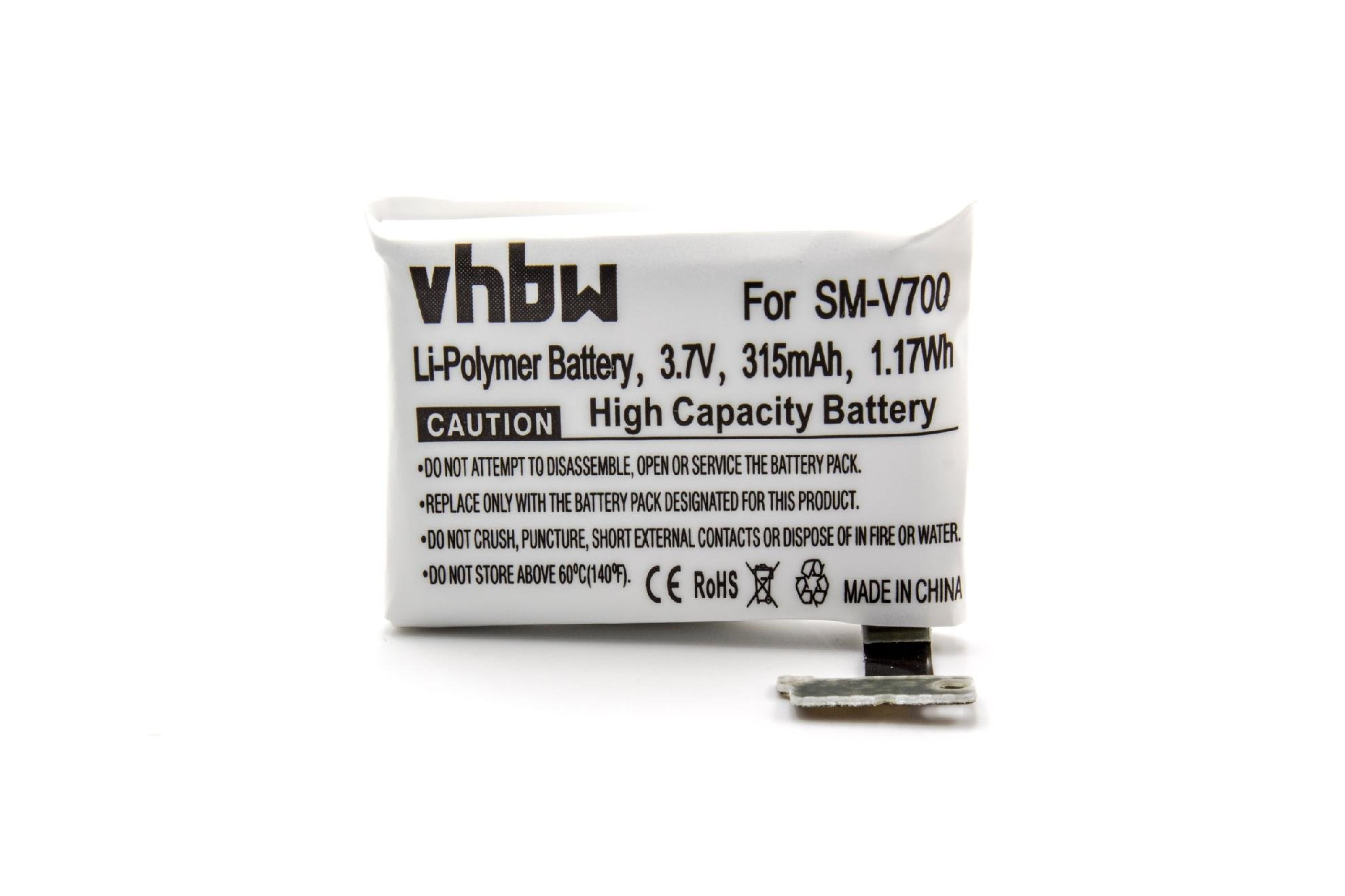 CELLONIC/® Bater/ía Premium Compatible con Samsung Gear 1 V700 // SM-V700 GH43-03992A 250mAh Pila Repuesto bateria B030FE